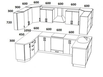 Кухня 1 - 70700